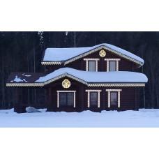 дом с украшением вариант1